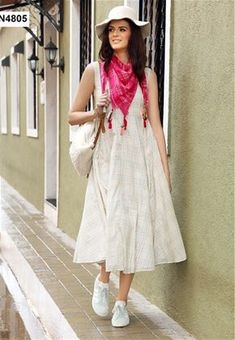 Readymade Soft Cotton Kurti In Off-White #stylishkurti #stylishtunic #designer #Kurti #nikvik #sale #usa #australia #canada #tunic #dress