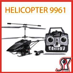 Elicottero radiocomandato spycam 9961, Spy Roma