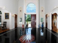 Foyer and Floor.