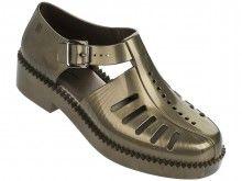 Melissa metalické sandály Aranha 7916 Bronze