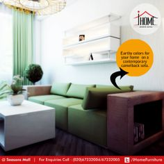 Use your space in an artistic way. Convert your lifestyle, with  #iHome #Furniture #ArtisticLiving #Pune