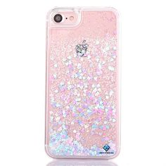 iPhone 6s case,iphone 6 case, Liujie Liquid, Cool Quicksand Moving Stars Bling G #MyckuuTM
