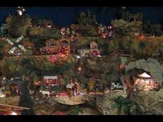 Christmas Nativity Manger Scene and Holiday Village Collectable Figurines Holy Family - YouTube