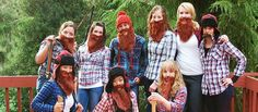 Lumber Jack's - 31 Top Fancy Dress Ideas For Students - http://universitycompare.com/fun/top-best-cheap-fancy-dress-ideas-for-students-2014/