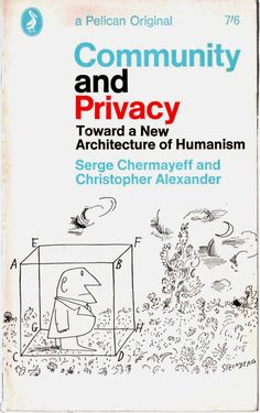 Saul Steinberg – Community & Privacy cover, 1966