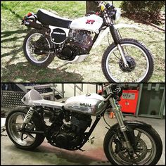 Sneak peek of the latest Stealth Custom underway! Yamaha XT500 turbo, all aluminium cafe racer. Stay tuned for progress shots! #stealthwelding #weldporn #custombike #yamaha #xt500 #turbo #turbobike #caferacer