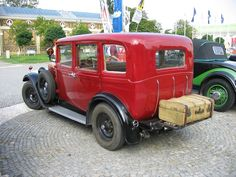 1930 Škoda 430 D Limousine Cars And Motorcycles, Vintage Cars, Monster Trucks, Van, Bike, Vehicles, Board, Autos, Cars