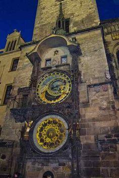 Prague Astronomical Clock (Image: quinet)