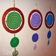 MANDALA OF INSPIRATION / Crochet Purple by MariasCrochetGarden