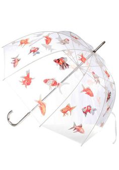 Quality umbrella for a grown-up woman, colorful, but not cutesy. Bonus points if it fits in my work bag!