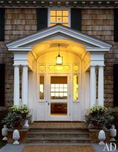 East Hampton home by Robert A.M.Stern via AD