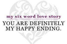 Six Word Love Story
