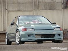 1993 Honda Civic CX - Gray Matter - Honda Tuning Magazine