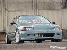 1993 Honda Civic CX - Gray Matter - Honda Tuning Magazine