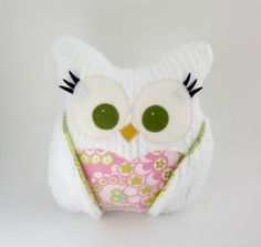 Plush Owl Pillow!