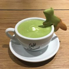 Greens Recipe, Matcha Green Tea, Aesthetic Food, Up Girl, Cute Food, Relleno, Mint Green, Food And Drink, Just For You