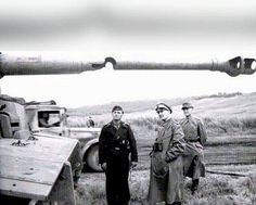 Tiger 1 with barrel damage,possibly hit by shell
