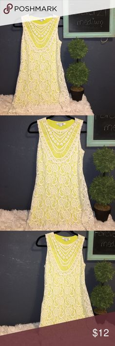 Forever 21 beautiful Lace dress (M)) Preowned good condition size medium Forever 21 Dresses Mini