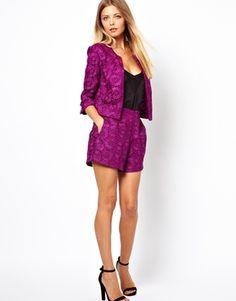 ASOS Blazer in Crochet Lace