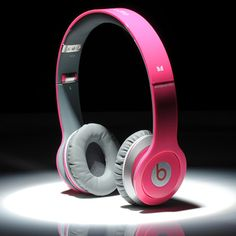 Beats By Dre Solo HD High Definition On-Ear Headphones Rose Red $108.90