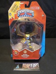 Skylanders Trap Team Nitro Head Rush Target Exclusive Figure Activision