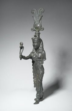 Isis Medium: Bronze Dates: 1st century C.E. (probably) Period: Roman Period