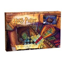 BOARD GAME : Harry Potter Mystery At Hogwarts Game. Clue version of Harry Potter. FuN!