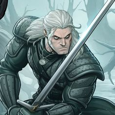 Witcher Art, The Witcher, Character Concept, Character Art, D D Characters, Fictional Characters, Set Game, Brown Art, Dungeons And Dragons