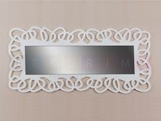 decorative wooden frame mirrors