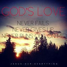 Never fails.