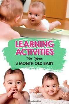 Your 3 month old darling is now bigger, more active & alert than before. Want to make learning more fun for her? Check out 3 activities for 3 month old baby 3 Months Baby Activities, Infant Sensory Activities, Toddler Learning Activities, Baby Sensory, Baby Learning, Baby Activites, Sensory Play, Child Development Activities, Baby Development