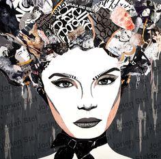 Time to impress - Jorien Stel - Paper Art