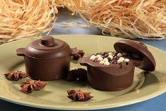 Panela de Chocolate com Doce de Batata Doce