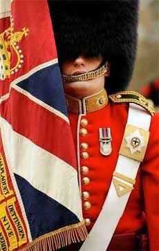Changing of the Guards at Buckingham Palace happens every ODD day in November. The guards and band start to arrive at Buckingham Palace at 11:15. Get there 30+ minutes earlier.