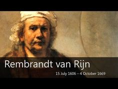 ▶ Rembrandt Biography - Goodbye-Art Academy - YouTube