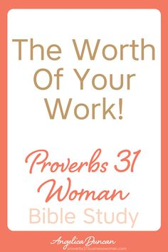 Do you know the value of your work? Let's discover the strength in knowing your worth and what you bring to the table in our FREE Proverbs 31 Woman Bible Study! Discover how to honor God through your work and daily habits. || Angelica Duncan Virtuous Woman Quotes, Proverbs 31 Virtuous Woman, Proverbs 31 Scripture, Bible Study Plans, Bible Study Tips, Bible Lessons, Spiritual Growth Quotes, Strength Bible, Devotional Journal