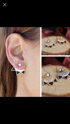 Boucles d'oreilles chaton earrings mode femme par WaekuraBijoux