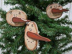 ornaments for my snowman tree