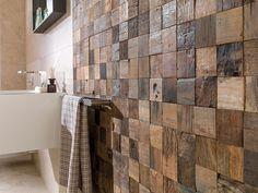 Panneau décoratif mural / en bois / 3D / massif WOOD L'ANTIC  COLONIAL by Porcelanosa