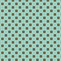 Geometric Small Flowers- Garden Party by Shery K Designs | #floral #pattern #background #zoggin