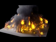 Blender 2.71 Tutorial - Cycles Smoke and Fire Explosion - YouTube