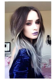 Grey ombre exactly what I want!!!!