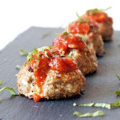 Turkey Zucchini Meatballs Recipe - ZipList