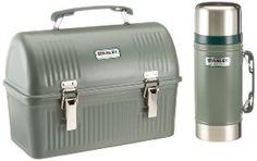 Stanley Classic Lunch Box and Classic Vacuum Food Jar Combo - Lunch boxes for men Lunch Boxes For Men, Vintage Lunch Boxes, Cool Lunch Boxes, Batman Lunch Box, Mens Lunch Bag, Lunch Bags, Adult Lunch Bag, Food Jar, Diy Box