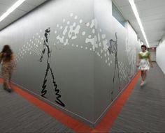 LIM College, Maxwell Hall Lighting Design by: Kugler Ning Lighting Design