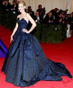Met Costume Gala 2012: What the Stars Wore: Leslie Bibb