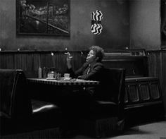 Tom Waits in Coffee and Cigarettes directed by Jim Jarmusch, 2003