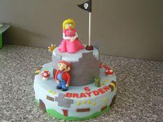 Mario land taart