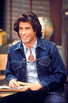 """John Travolta, Welcome Back Kotter (1975-1979) ) - Starring Gabe Kaplan, John Travolta, Ron Palillo, Lawrence Hilton-Jacobs, Robert Hegyes, Marcia Strassman, and John Sylvester White. Filmed in front of a live television audience. Comedy about a group of high school students known as """"The Sweathogs"""" who tend to get in trouble often. Their teacher, Mr. Kotter, has a soft spot for these kids because he too, grew up in the city."""