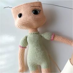 Örgü Oyuncak Nehir Bebek Tarifi See other ideas and pictures from the category menu…. Baby Knitting Patterns, Amigurumi Patterns, Doll Patterns, Crochet Doll Pattern, Crochet Geek, Lol Dolls, Cute Dolls, Knitted Dolls, Crochet Dolls